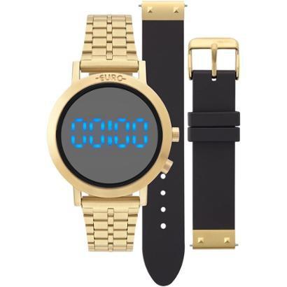 1407d4e4923 Relógio Euro Feminino Fashion Fit Dourado - EUBJ3407AA T4P EUBJ3407AA T4P- Feminino