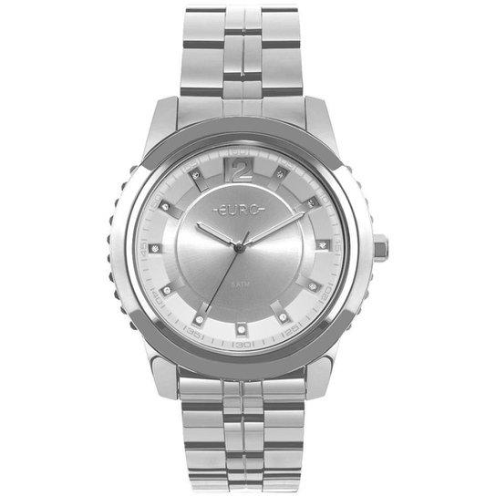 Relógio Euro Feminino Metal Glam - EU2035YOG/3K EU2035YOG/3K - Prata