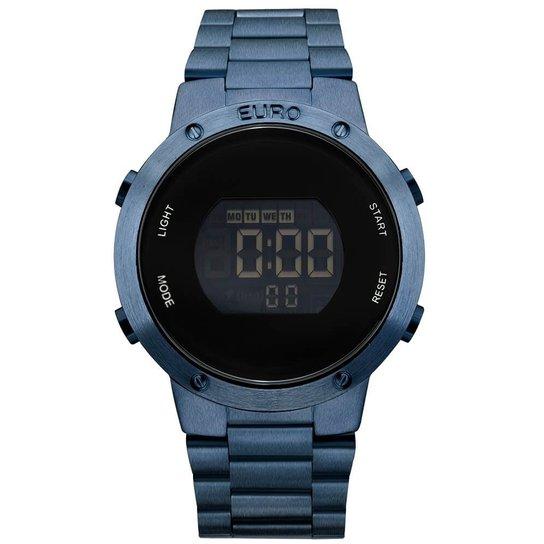 Relógio Euro Metal Trendy EUBJ3279AC/4A Digital - Azul