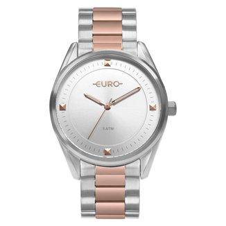 Relógio Euro Minimal Shine Bicolor Feminino