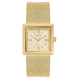 Relógio Euro Shiny Mesh Feminino