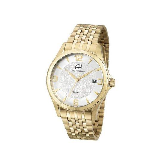 Relógio Feminino Ana Hickmann - Dourado