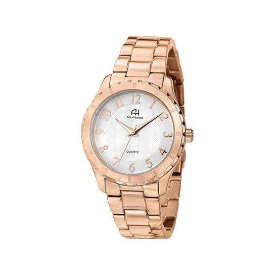 Relógio Feminino Analógico Ana Hickmann Fashion - Dourado