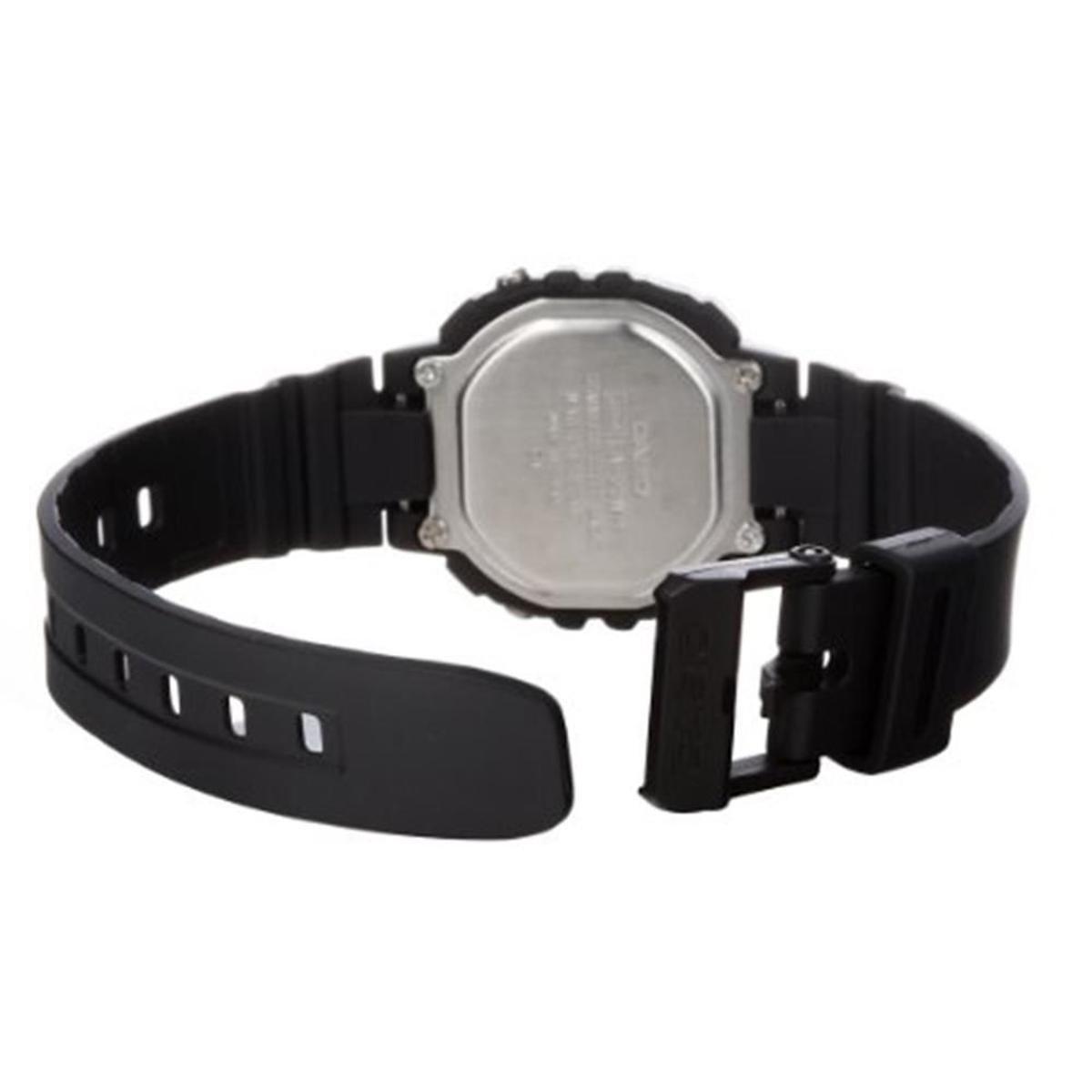9bdb352a014 Relógio Feminino Casio Digital - Preto e Pink - Compre Agora