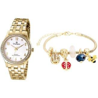 Relógio Feminino Champion Analógico CN28982W com Acessório
