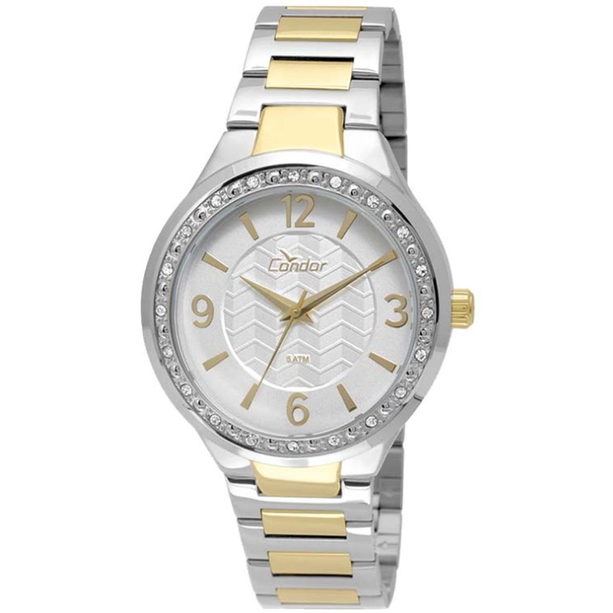 3ecf9997070 Relógio Feminino Condor Co2035ktc 5K - Dourado - Compre Agora