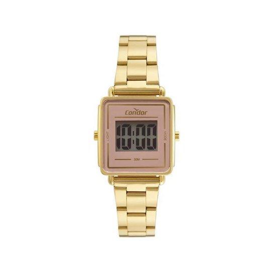 Relógio Feminino Digital Condor - Dourado