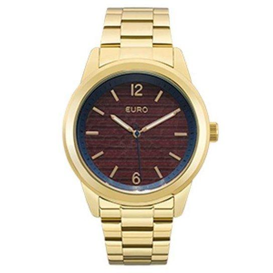 Relógio Feminino Euro 43mm - Dourado