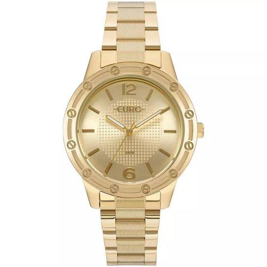 Relógio Feminino Euro EU2035YND/4D 40mm Aço - Dourado