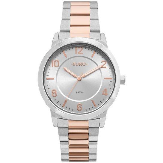 Relógio Feminino Euro EU2036YLW/5K Aço - Prata