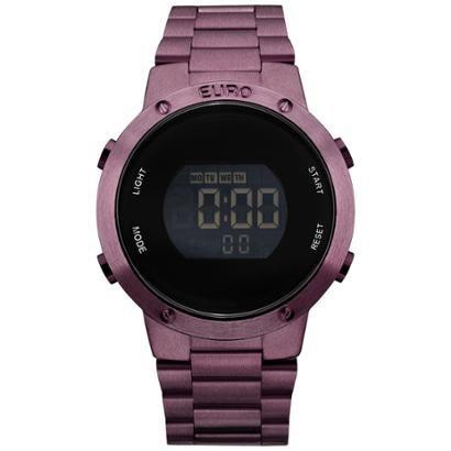 Relógio Feminino Fashion fit EUBJ3279AD/4T - Roxo EUBJ3279AD/4T