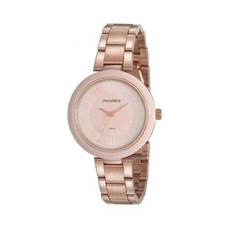 Relógio Feminino Mondaine 32217LPMVRE2 40mm Aço Rosé