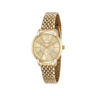 Relógio Feminino Mondaine Analógico - 53615LPMVDE1