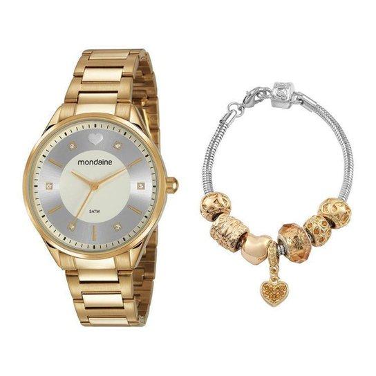 Relógio Feminino Mondaine Analógico - Dourado