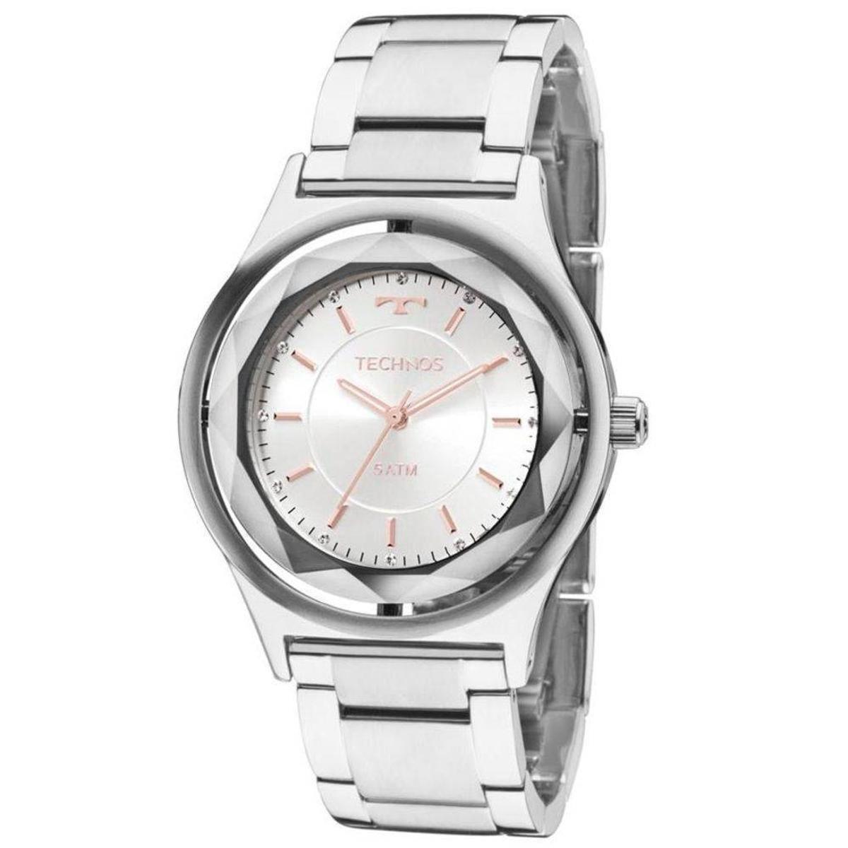 b6875bfd65ef8 Relógio Feminino Technos Analógico 2035Mia 1K - Prata - Compre Agora ...