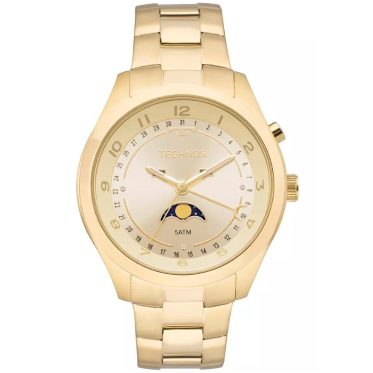a6baf886ade72 Relógio Feminino Technos Ladies 6P80aa 4X - Compre Agora   Zattini