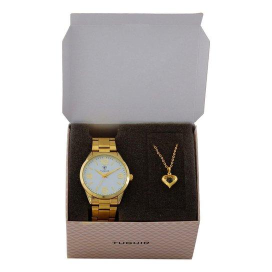 Relógio Feminino Tuguir Analógico - Dourado