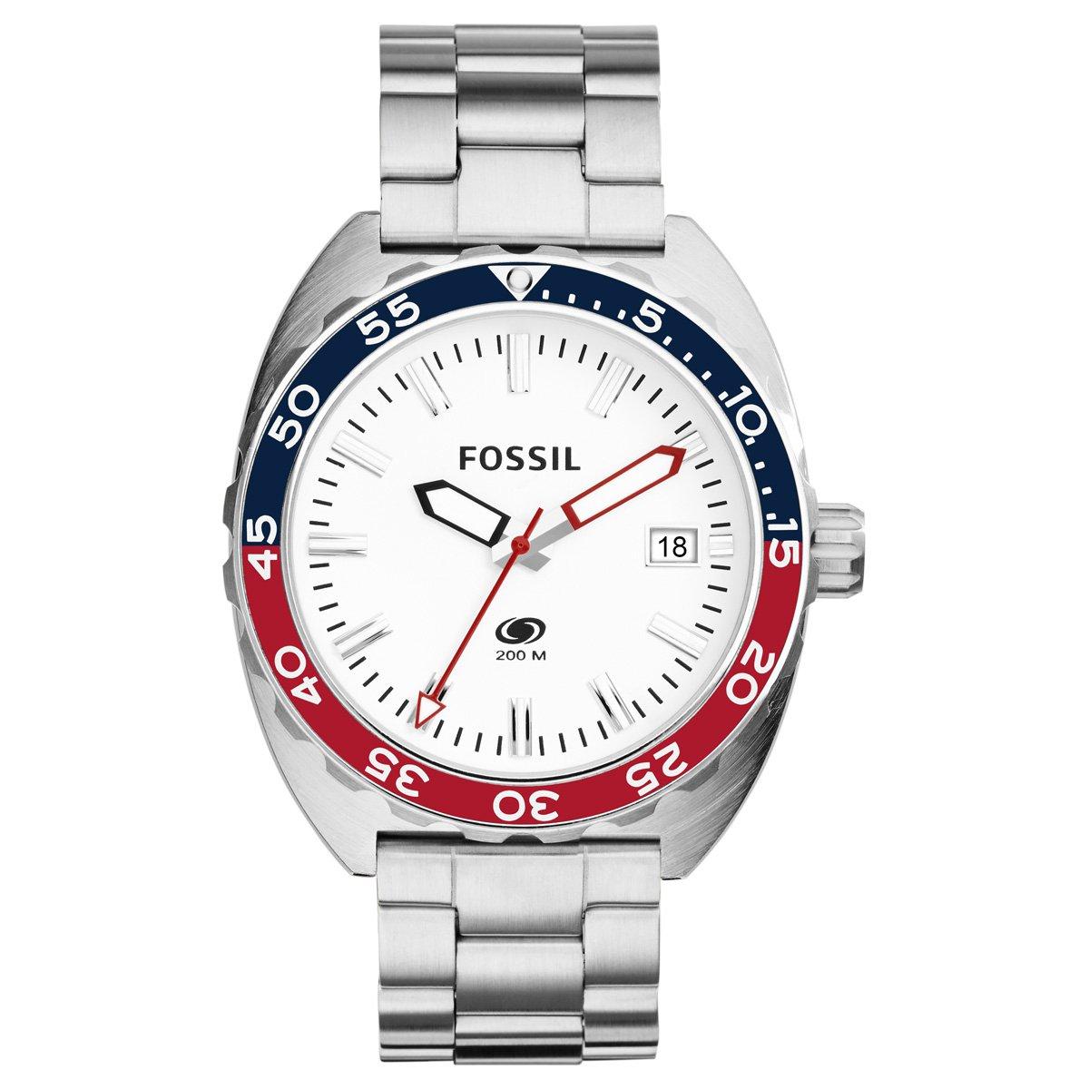 21a3453987992 Relógio Fossil Analógico - Prata - Compre Agora   Zattini