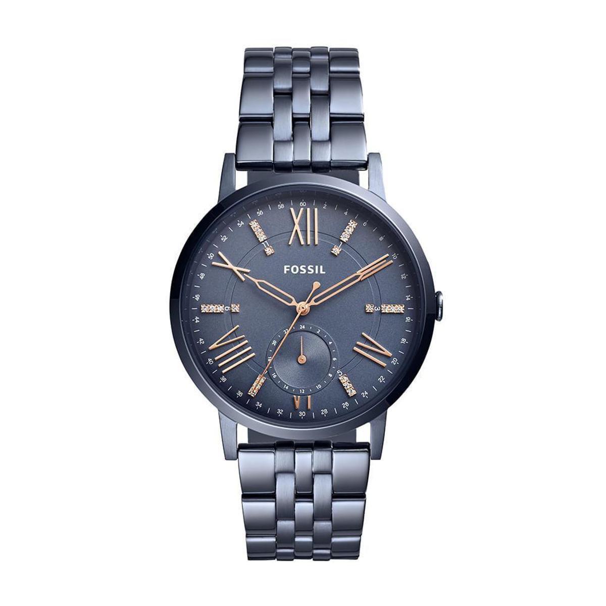 f2c1f24b865 Relógio Fossil Feminino Gazer - ES4267 4CN ES4267 4CN - Azul - Compre Agora