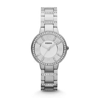 Relógio Fossil Feminino Virginia Prata - ES3282/1KN ES3282/1KN