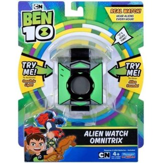 Relógio Infantil Digital Ben 10 Alien Omnitrix Sunny