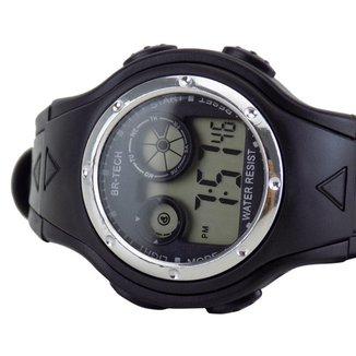 Relógio Infantojuvenil/Adulto Digital Led Pulseira Silicone