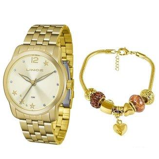 Relógio Lince Analógico com Pulseira Feminino LRG4552L KU91C2KX