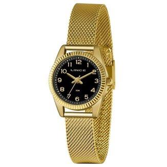 Relógio Lince Feminino Classic Dourado LRG4674L-P2KX