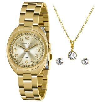 Relógio Lince Feminino Classic Dourado LRG4679L-KZ79C2KX