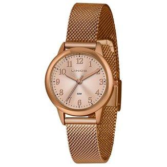 Relógio Lince Feminino Classic Rosê LRR4653L-R2RX