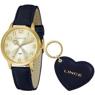 Relógio Lince Feminino Funny Dourado LRC4671L-KN30C2DX