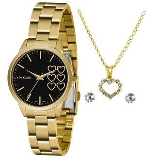 Relógio Lince Feminino Funny Dourado LRG4681L-KZ85P1KX