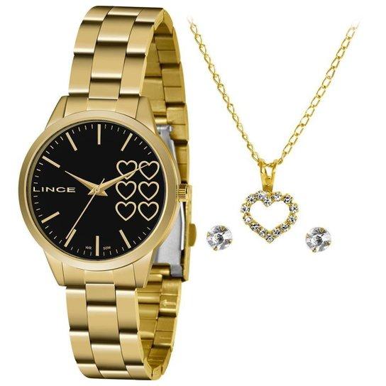 Relógio Lince Feminino Funny Dourado LRG4681L-KZ85P1KX - Dourado