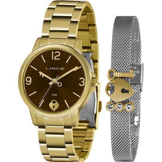 Relógio Lince Feminino Funny Dourado LRG4682L-KN20M2KX - Dourado