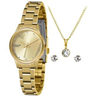 Relógio Lince Feminino Funny Dourado LRGH143L-KY31C1KX