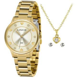 Relógio Lince Feminino Funny Dourado LRGH144L-KY34C1KX
