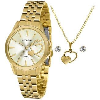 Relógio Lince Feminino Funny Dourado LRGH153L-KY56C1KX