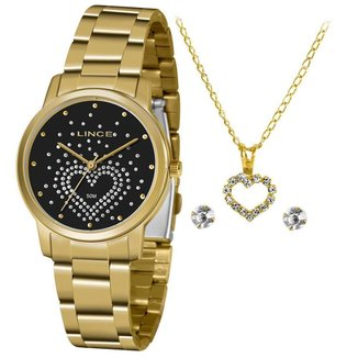 Relógio Lince Feminino Funny Dourado LRGJ129L-KY97P1KX