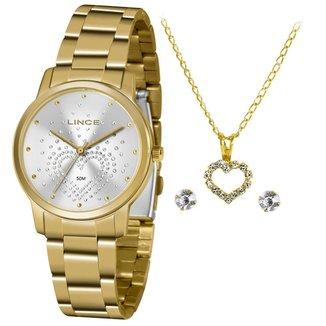 Relógio Lince Feminino Funny Dourado LRGJ129L-KY99S1KX