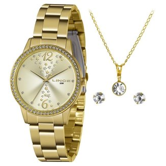Relógio Lince Feminino Funny Dourado LRGJ133L-KZ33C2KX