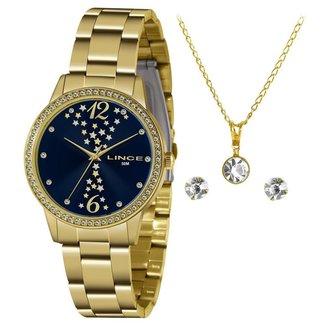Relógio Lince Feminino Funny Dourado LRGJ133L-KZ36D2KX
