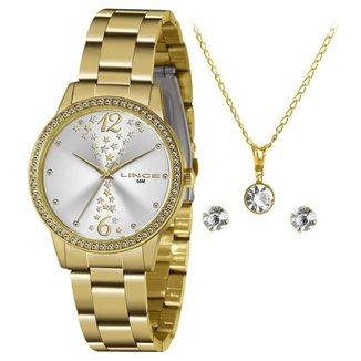 Relógio Lince Feminino Funny Dourado LRGJ133L-KZ37S2KX