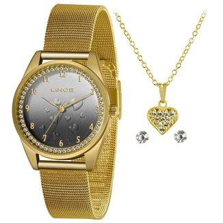 Relógio Lince Feminino Funny Dourado LRGJ135L-KZ25P2KX
