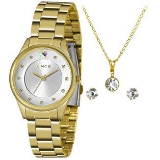 Relógio Lince Feminino Funny Dourado LRGJ138L-KZ52S1KX