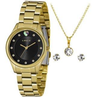 Relógio Lince Feminino Funny Dourado LRGJ138L-KZ54P1KX