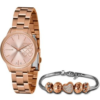 Relógio Lince Feminino Funny Rosê LRR4681L-KN12R1RX