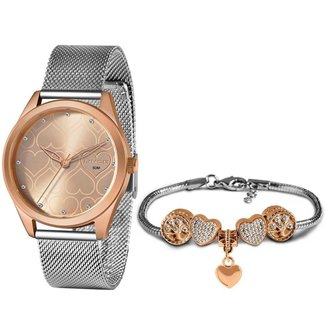 Relógio Lince Feminino Funny Rosê LRT4673L-KN05R1SX