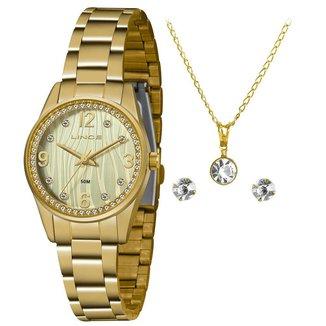 Relógio Lince Feminino Urban Dourado LRG4669L-KZ87C2KX
