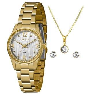 Relógio Lince Feminino Urban Dourado LRG4669L-KZ88S2KX