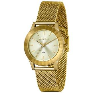 Relógio Lince Feminino Urban Dourado LRG4670L-C1KX
